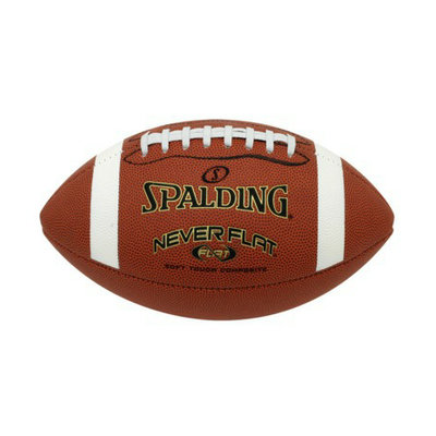 Spalding Never Flat Football