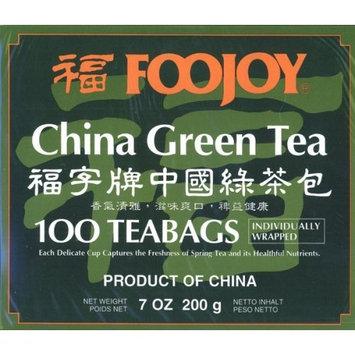 Adhealthyway Foojoy China Green Tea, 2g X 100 Teabags by A2AWorld Green Tea