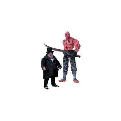 DC Comics Batman Arkham City: Sickle and Penguin Action Figure Two Pack Set