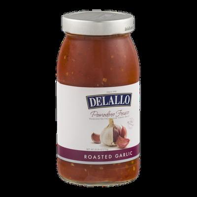 DeLallo Pomodoro Roasted Garlic Fresco Italian Plum Tomato Sauce