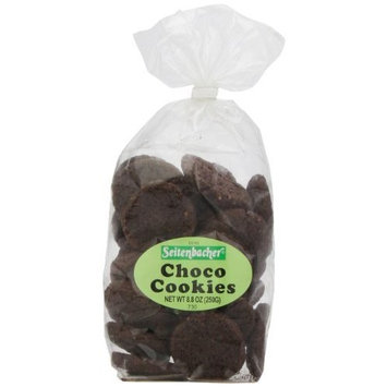 Seitenbacher Choco Cookies, 8.8-Ounce Bags (Pack of 6)