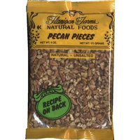 Flanigan Farms Natural Foods Pecan Pieces, Raw, Unsalted 6oz (3 Pack)
