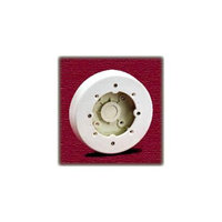 Wiremold 4inch White Round Ceiling Box NMW4