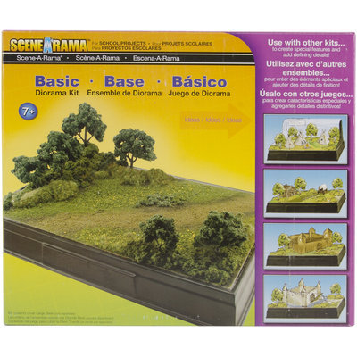 Woodland Scenics WS 4110 Basic Diorama Kit