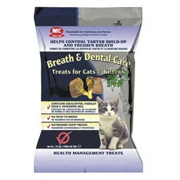 M C M&C Breath and Dental Treats for Cats/Kittens