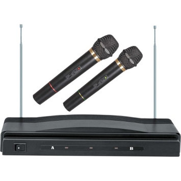 Supersonic Dual Wireless Microphone