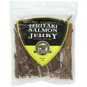 Alaska Smokehouse Teriyaki Salmon Jerky