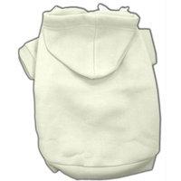 Mirage Pet Products 12-Inch Blank Hoodies, Medium, Cream