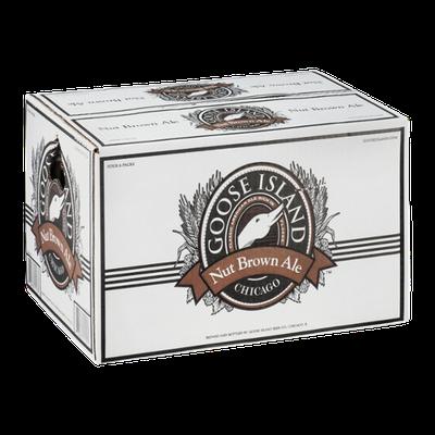 Goose Island Nut Brown Ale - 24 PK