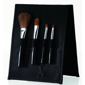 Danielle Creations Danielle Black Makeup Brush Set, 0.06-Pound