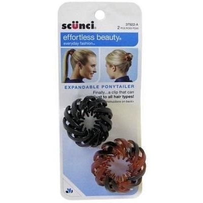 Scunci Headwrap Sheer Print 2 pack