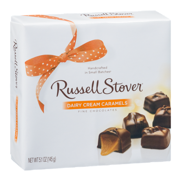 Russell Stover Fine Chocolates Dairy Cream Caramels