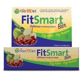Fiber 35 Diet Fitsmart Protein Fiber Bars Cranberry Apple - Bar - 1 - Bar