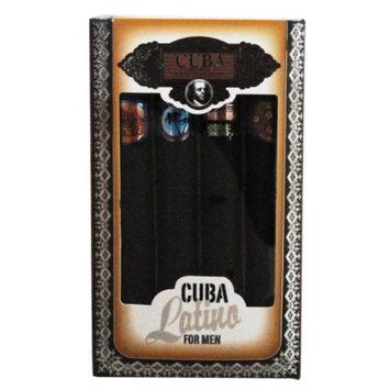 Cuba Latino Variety Gift Set 4 Piece, 1 set