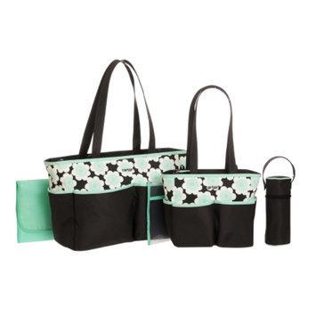 Carter's Diaper Bags 5 Piece Diaper Bag Set, Mint, 1 ea