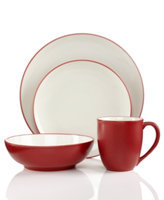 Noritake Colorwave Raspberry Coupe 4-Piece Place Setting