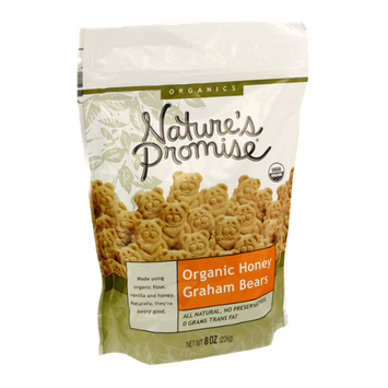 Nature's Promise Organics Organic Honey Graham Bears