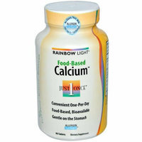 Rainbow Light Food-Based Calcium 90 Tablets