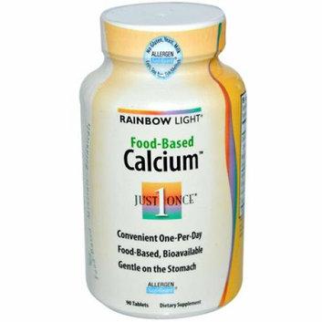 Rainbow Light Food-Based Calcium 90 Tablets
