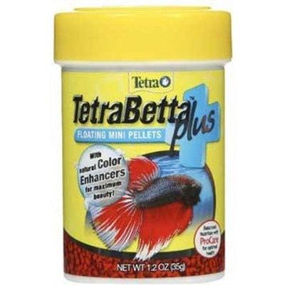 Tetra 77256 TetraBetta PLUS Mini Pellets, 1.2-Ounce, 85-ml
