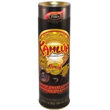 Turin Chocolate Kahlua Chocolates Tube, 7-ounces