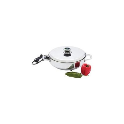 Chefs Secret T304 Stainless Steel Electric Skillet