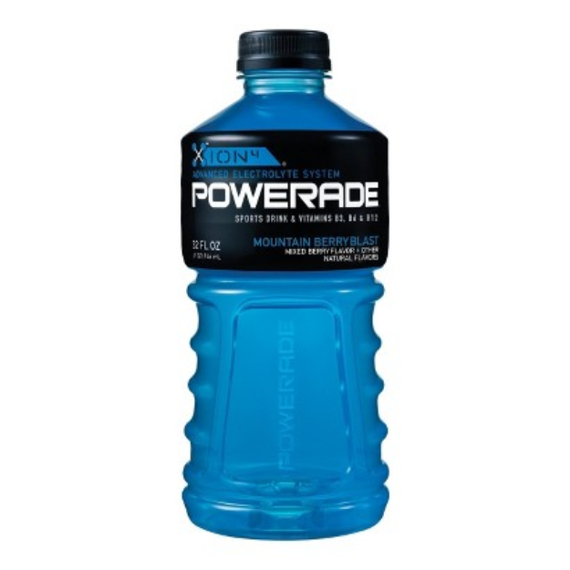 Powerade Mountain Blast Sports Drink 32 oz