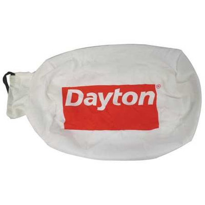 DAYTON HV2116100G Collector Bag,3.1 cu. ft.