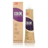 Wella Color Perfect Permanent Creme Gel 1:2 6RG Dark Red Golden Blonde