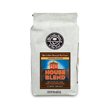 The Coffee Bean & Tea Leaf, House Blend Ground Coffee, 12-Ounce Bags (Pack of 2)