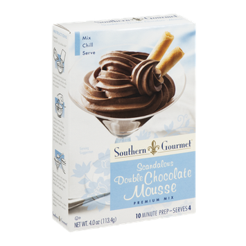 Southern Gourmet Premium Mix Scandalous Double Chocolate Mousse
