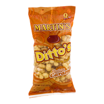 Martin's Ditto's Corn Puffs Buttery Caramel Flavored