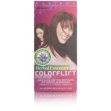 Clairol Herbal Essences Color Flirt Mousse CF4 So Hot