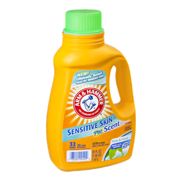 Arm & Hammer Sensitive Skin Plus Scent Pure & Fresh Detergent - 32 Loads