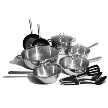 Kinetic Classicor Stainless Steel 15 Piece Set