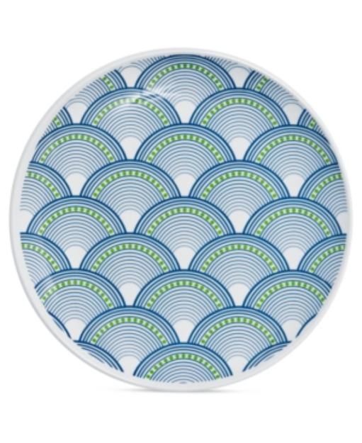 Jonathan Adler Dinnerware, Set of 4 Scales Melamine Salad Plates
