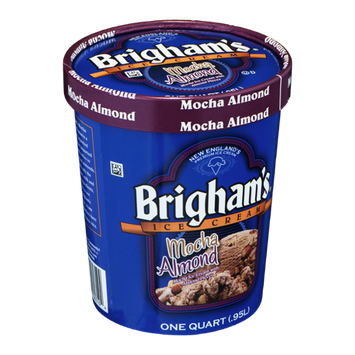 Brigham's Ice Cream Mocha Almond