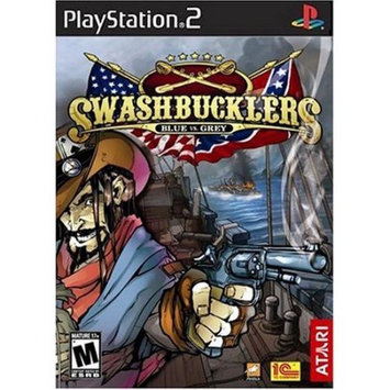 Kohls Playstation 2 Swashbucklers Blue Vs. Grey