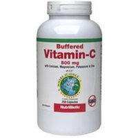 Nutribiotic Calcium Ascorbate Powde Buffered Vitamin C, 500 mg, 250 caps