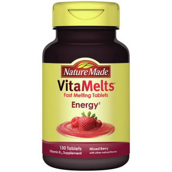 Generic Nature Made VitaMelts Energy Vitamin B12 Supplement Tablets, 130 count