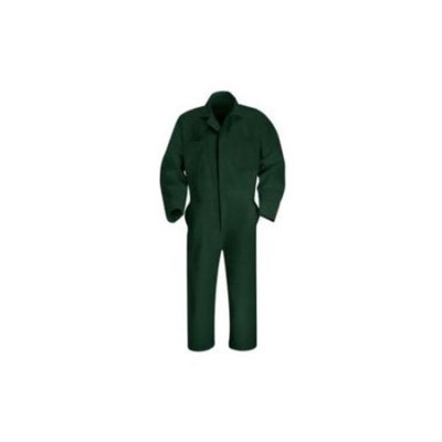 Red Kap 38 Men's Spruce Green Long Sleeve Coveralls CT10SG RG 38