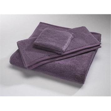 Home Source 10102BAV75 100 Percent Cotton Bath Towel - Eggplant