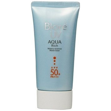 Biore Sarasara Uv Aqua Rich Waterly Essence Sunscreen 50g Spf50+ Pa+++ for Face and Body By Bioré []