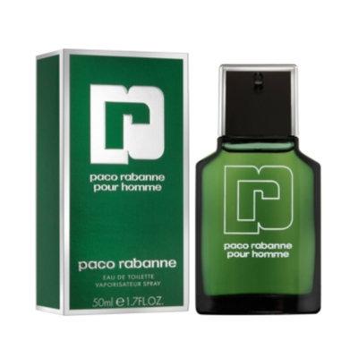 Paco Rabanne Pour Homme Eau de Toilette, 1.7 oz