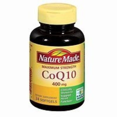 Nature Made CoQ10, 400mg, Maximum Strength, Coenzyme, 24 Softgels