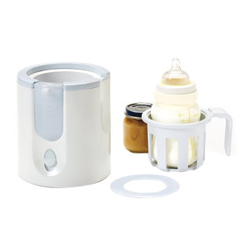 Munchkin Deluxe Bottle & Food Warmer with Pacifier Cleaning Basket