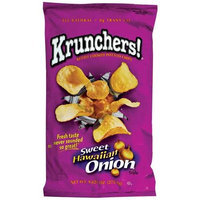 Krunchers! Sweet Hawaiian Onion Kettle Cooked Potato Chips, 9 oz