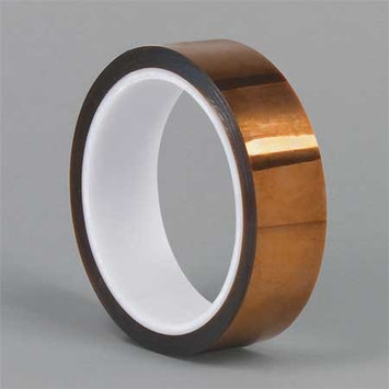 Dupont Film Tape (Polyimide, Amber, 1 in x 100 ft). Model: Kapton HN