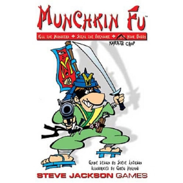 Munchkin Fu Card Game Ages 10 and up, 1 ea