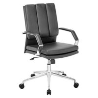 Office Chair: Zuo Modern Director Pro Office Chair - Black